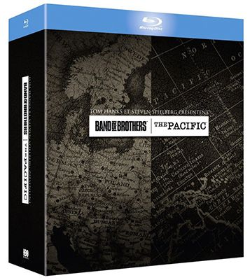 Band of Brothers + The Pacific Blu ray Box für 24,26€ (statt 41€)