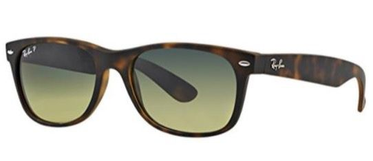 Geht noch! Ray Ban RB2132 New Wayfarer Sonnenbrille (polarisiert, 52mm) für 54,95€ (statt 84€)