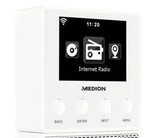 Medion E85032 Steckdosen Internetradio für 98,95€ (statt 113€)