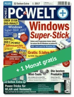 3 Ausgaben PC WELT plus für effektiv 2,95€