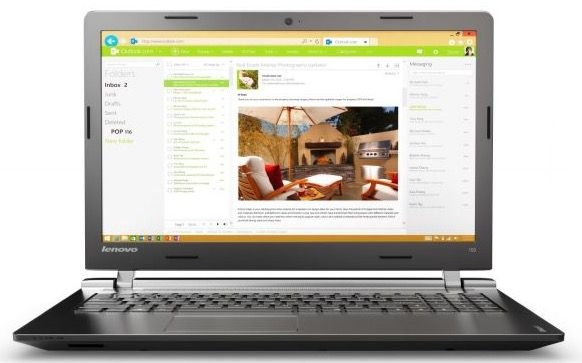Lenovo IdeaPad 100 15IBD   15,6 Zoll Office Notebook für 299€ (statt 335€)