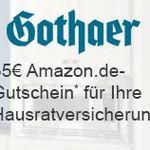 Gothaer Hausratversicherung + 35€ Amazon.de Gutschein – Bonus-Deal!