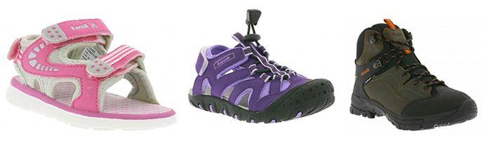 kamik Schuhe Sale bei Outlet46   z.B. Kinder Trekking Sandalen für 10€ (statt 28€)