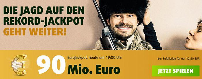 Vorbei! 3 Felder Eurojackpot (90 Mio.) + 15 Rubbellose + 2 Felder Mini Lotto nur 0,99€