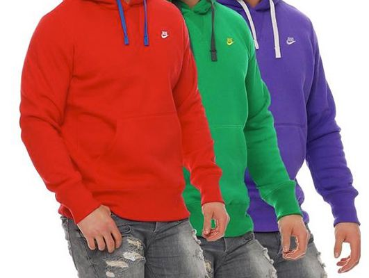 Nike Fleece Colored Hoodies für je 32,95€ (statt 40€)