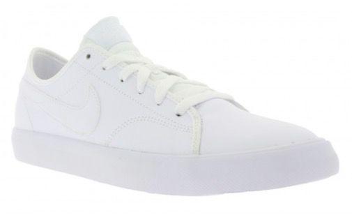 Nike Primo Court Herren Leder Sneaker in Weiß für 29,99€ (statt 53€)