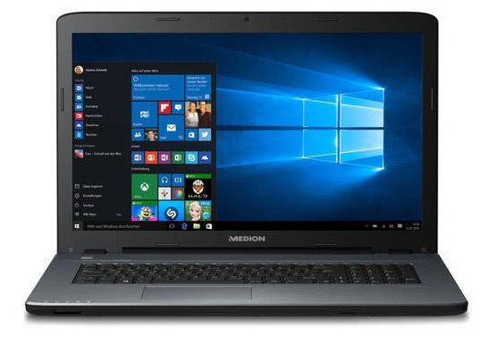 Medion Akoya P7645   17,3 Full HD Notebook mit 1,5TB + 128GB SSD + Win 10 für 769€ (statt 900€)