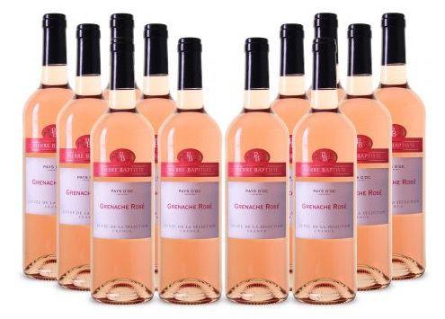 12 Flaschen Pierre Baptiste Grenache Rosé Wein für 49€