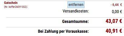 Ausverkauft! Delsey Epinette Spinner Slim 4 Rollen Kabinentrolley 55cm für 40,91€ (statt 70€)