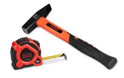 Black & Decker Schlosserhammer nach DIN 1041 + Maßband für 7,94€ (statt 14€)