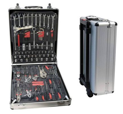 Hoffmann Werkzeugkoffer aus Aluminium mit 289 Teilen für 74,95€ (statt 107€)