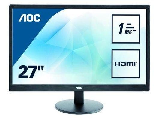 AOC E2770SH   27 Zoll Full HD Monitor mit 1ms für 149€ (statt 169€)