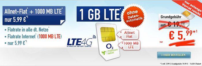 Bildschirmfoto 2017 01 13 um 11.38.55 o2 Comfort Allnet Flat mit 1GB LTE für 5,99€ mtl.