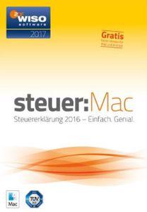 WISO steuer:Mac 2017 (Steuerjahr 2016) oder WISO steuer:Sparbuch 2017 für je 19,99€