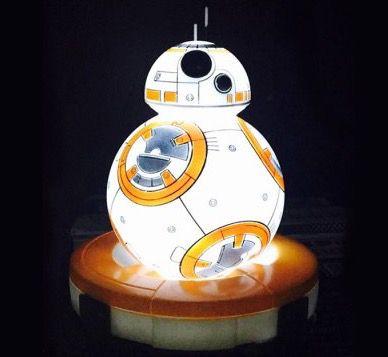 BB 8 Roboter Nachtlicht mit Farbwechsel für 13,58€ (statt 23€)