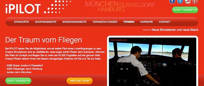 1 Stunde iPilot Schnupperflug für 47,40€ (statt 79€)   nur München, Hamburg oder Düsseldorf!