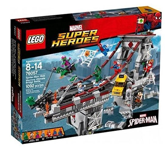 LEGO Marvel Spider Man: Ultimatives Brückenduell der Web Warriors für 58,90€ (statt 73€)