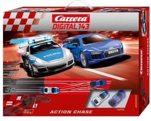 Carrera Digital 143 Action Chase für 54,95€ (statt 97€)