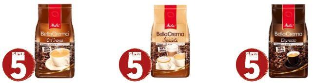 4kg Melitta BellaCrema Bohnen (versch. Sorten) für 35,52€ (statt 48€)