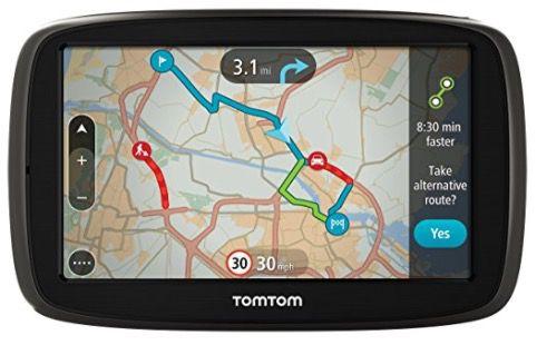TomTom GO 50 Satelliten Navigationsgerät mit aktuellen Lifetime Maps für 118,73€ (statt 190€)