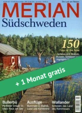 4 Ausgaben Merian Reise Magazin für 24,30€ + 25€ Gutschein