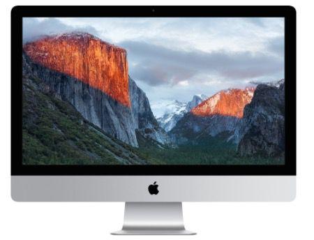 Apple iMac 27 Zoll mit Retina 5K Display (Late 2015) ab 1.990€ + 501,25€ in Superpunkten