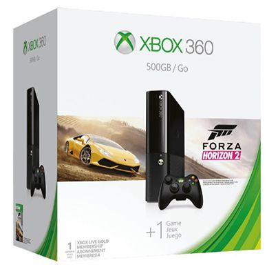 Xbox 360 500GB Forza Horizon 2 Bundle ab 99€ (statt 129€)
