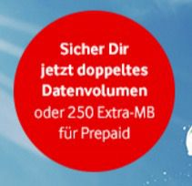 Doppeltes Datenvolumen für Vodafone Young Tarife dank Trick über Abiagenten
