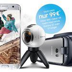 Samsung Gear VR + Gear 360 für 99€ (statt 324€) beim Kauf eines Galaxy S7 oder S7 edge