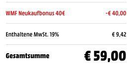 Schnell! WMF Provence Plus Topfset 4 teilig für 59€ (statt 109€)