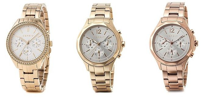 Esprit Schmuck & Uhren bei brands4friends   z.B. Timewear Damenuhr für 60€ (statt 70€)