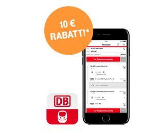 Nur für Telekom Kunden: 10€ Deutsche Bahn Coupon für die DB Navigator App