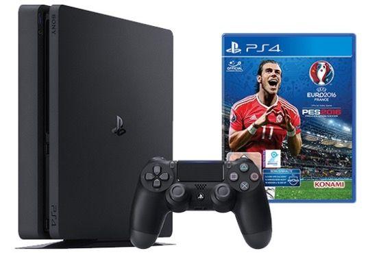 Playstation 4 slim 500GB + EURO 2016 für 222€