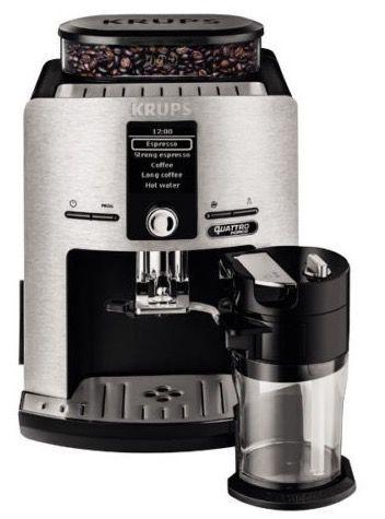 Krups EA82FD LattEspress Quattro Force Kaffevollautomat für 319€ (statt 384€)