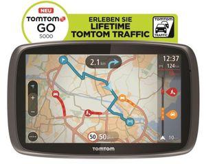 TomTom GO 5000 M Europa XXL HD Traffic + Free Lifetime 3D Map (refurb.) für 159,90€ (statt neu 235€)