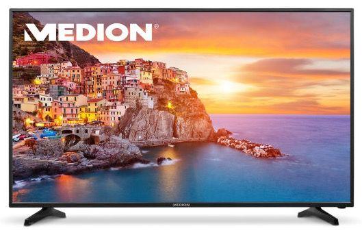 Medion P18090   55 Zoll UHD Fernseher mit Triple Tuner + DVB T2 für 379,95€ (statt 430€)