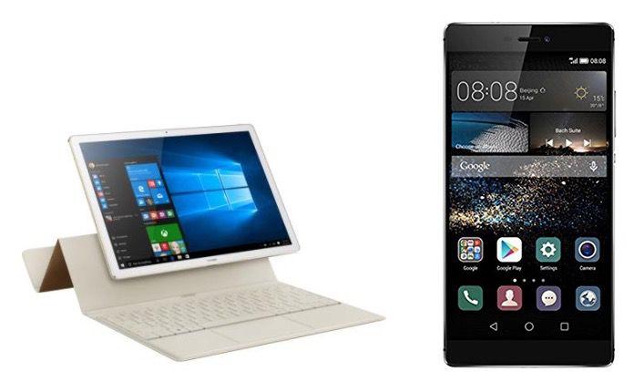 Huawei MateBook Elite Tablet + Huawei P8 Smartphone + Vodafone Allnet + 2GB LTE für 38€ mtl.