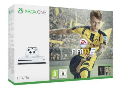 Schnell? Xbox One S 1TB + Fifa 17 ab 189€   und andere Bundle!