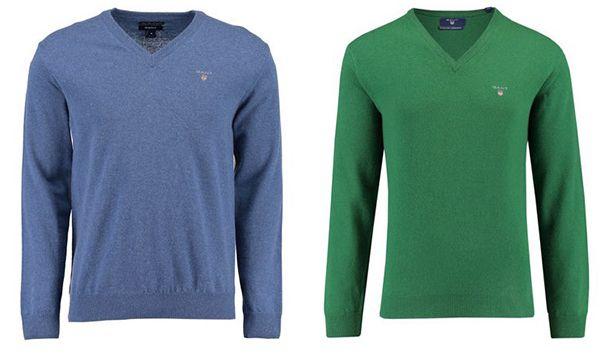 GANT Herren Woll Pullover für 51,87€ (statt 60€)   ab 2 Stück keine VSK