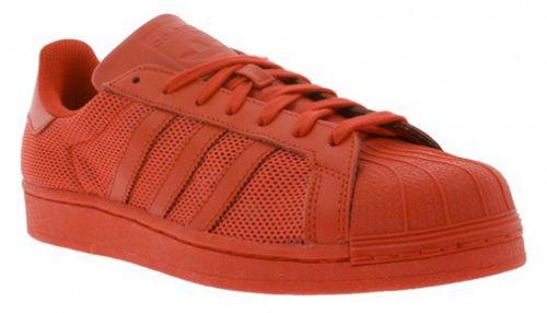 adidas Originals Superstar Sneaker in Rot für 39,99€ (statt 60€)