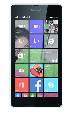 Microsoft Lumia 540 Smartphone in Weiß für 55€ (statt 80€)