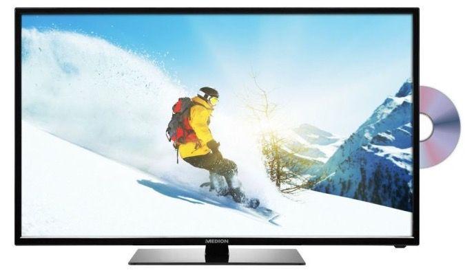 Medion Life P12302   31,5 Zoll TV mit DVB T2 + DVD Player für 199,95€ (statt 244€)