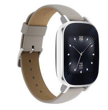 Asus Zenwatch 2 Smartwatch mit Lederarmband für 96€ (statt 159€)