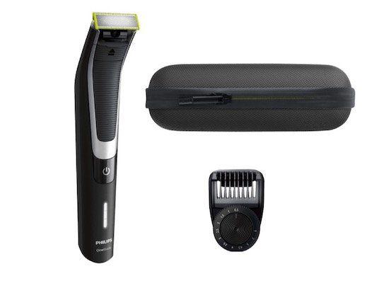 Philips QP6510 Oneblade Pro & Pouch Rasierer mit Tasche für 39,99€ (statt 54€)