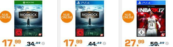 Bioshock BioShock   The Collection   Xbox One 17,99 für 169€ und mehr günstige Angebote im Saturn Weekend Sale