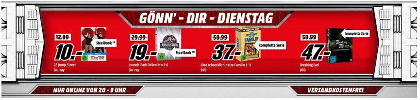Breaking bad DVD Eine schrecklich nette Familie für 37€   im Media Markt Dienstag Sale