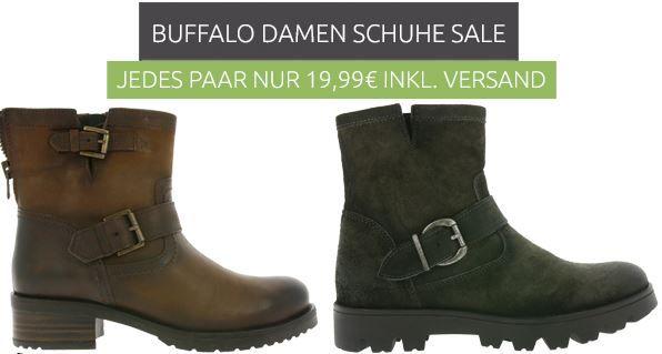 Buffalo Damen Schuhe statt 59€ für 19,99€