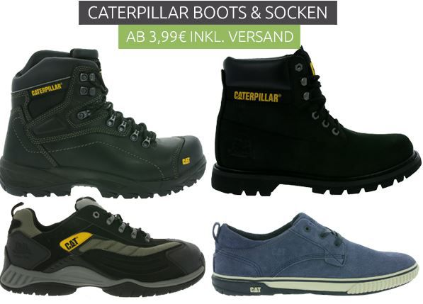 Caterpillar Boots & Socken ab 3,99€