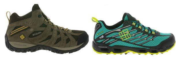 Columbia Herren Outdoor und Trailrunnig Schuhe ab 39,99€