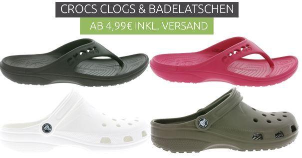 Crocs Outlet Sale Crocs Ausverkauf bei Outlet46 Modelle für Damen und Herren ab 4,99€